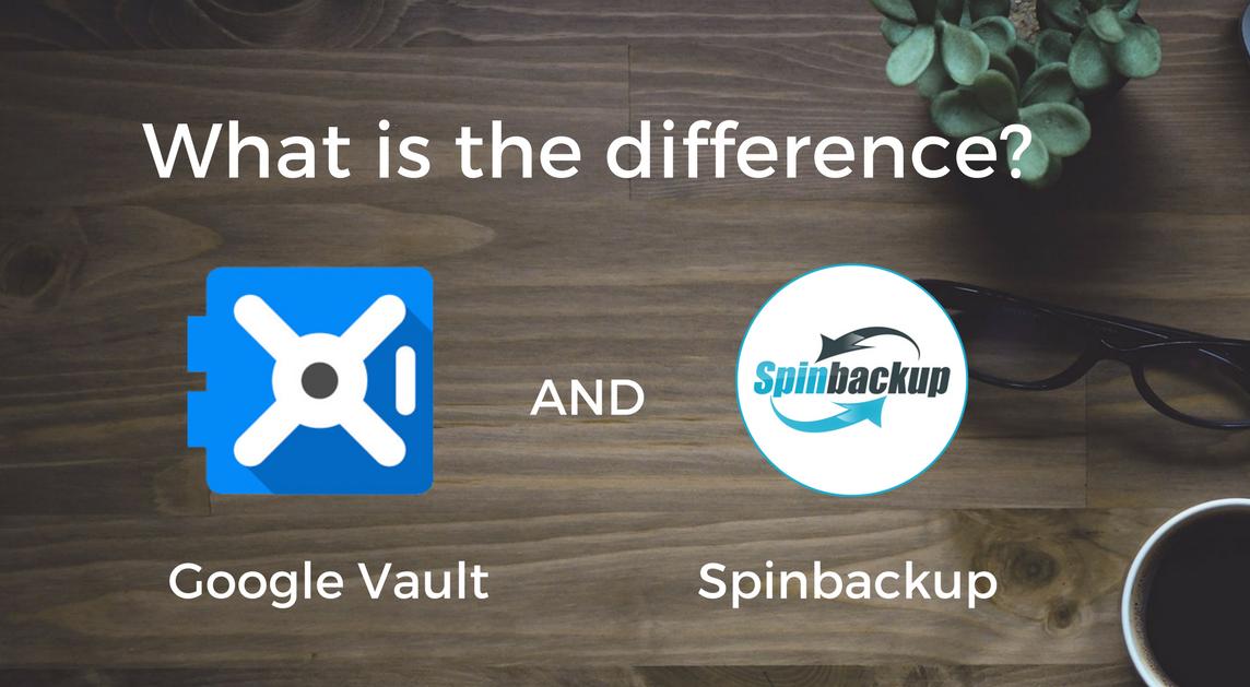 Google Vault vs Spinbackup