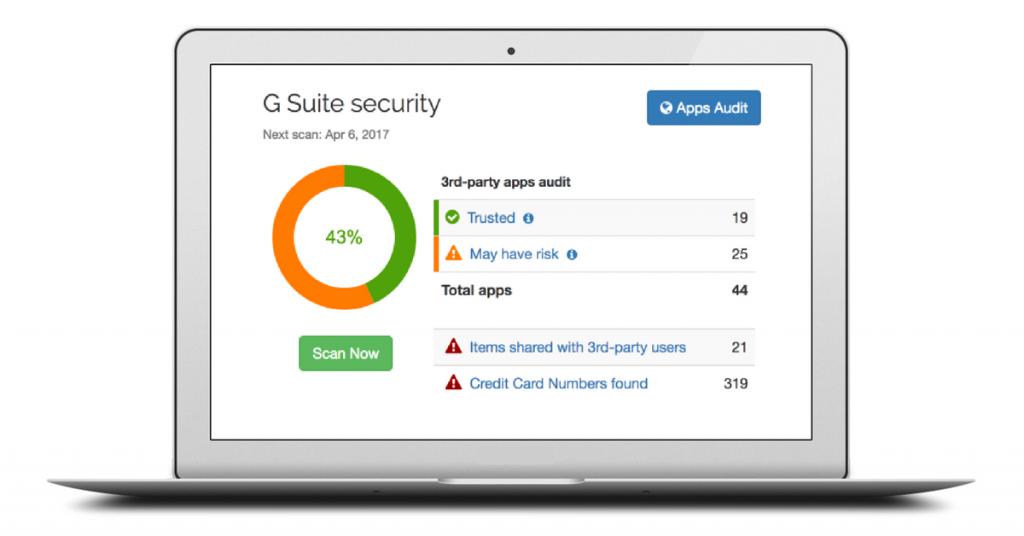 Spinbackup G Suite security