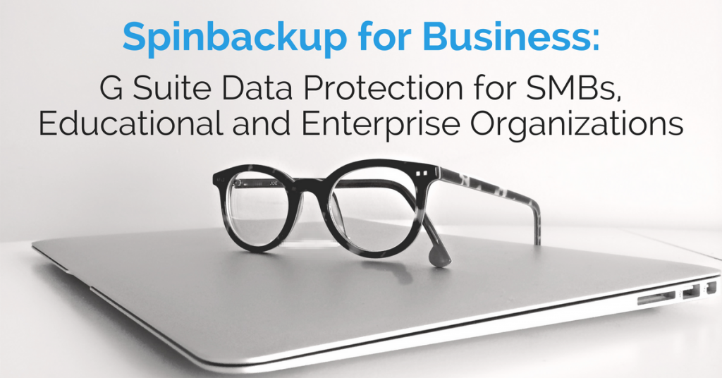 Spinbackup for Business G Suite Data Protection