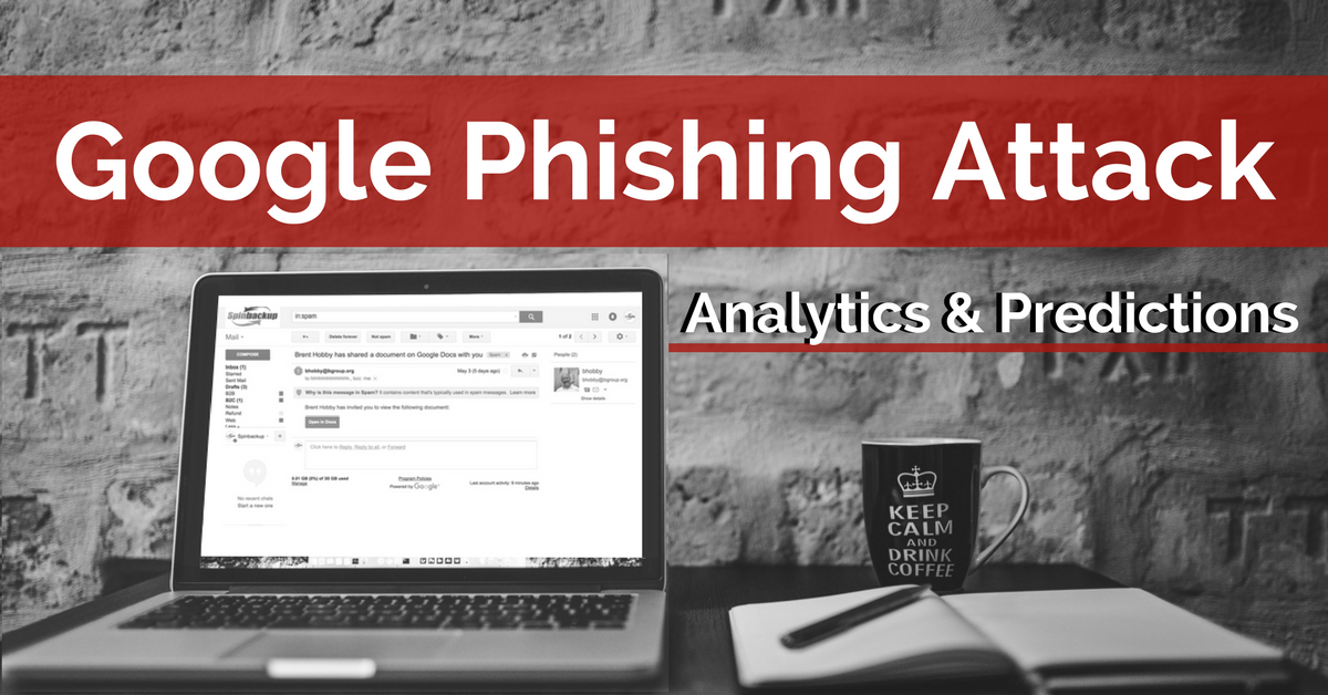 Google phishing attack - Spinbackup
