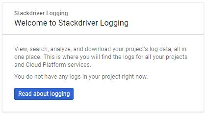 Google's Stackdriver Logging