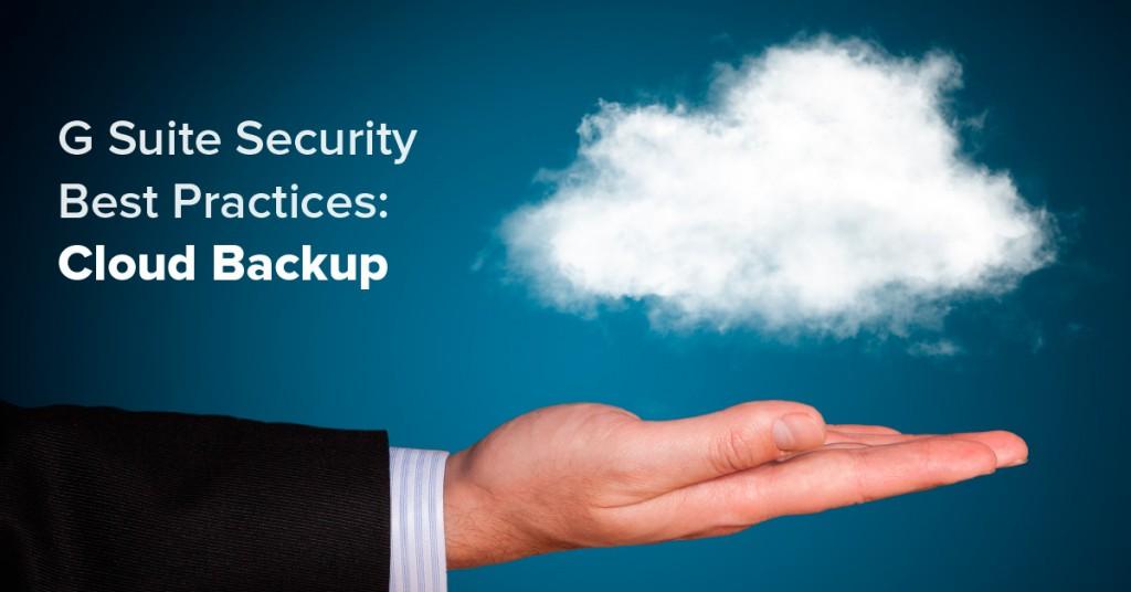 cloud backup best practices