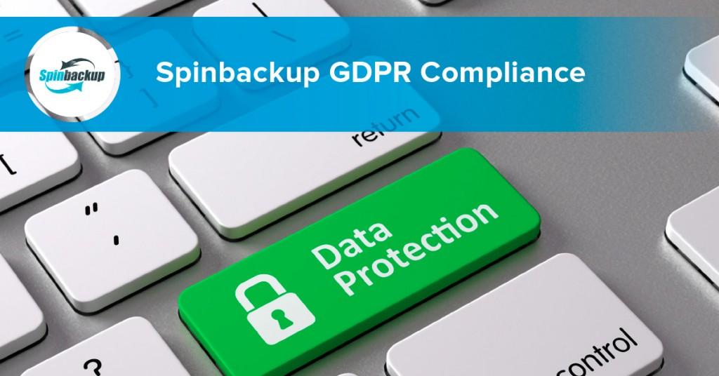 Spinbackup GDPR Compliance