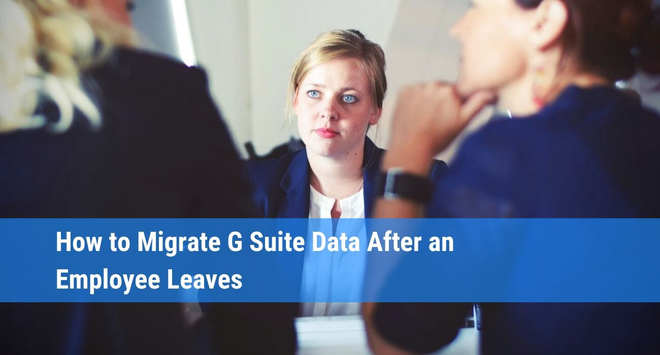 How to use G Suite data migration service