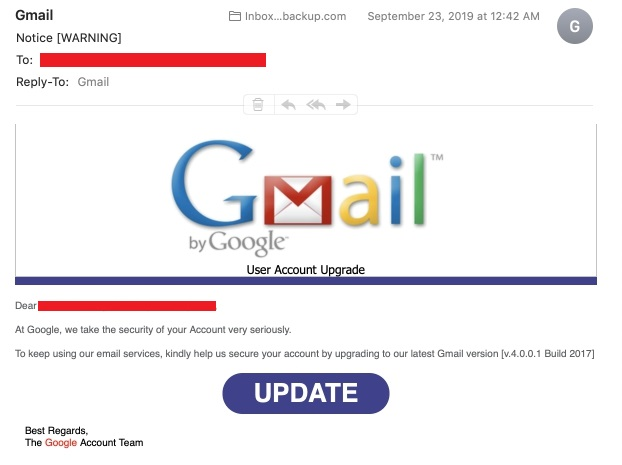 Find out, how sophisticated phishing attacks may be