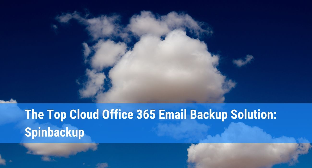 How to backup Office 365 email