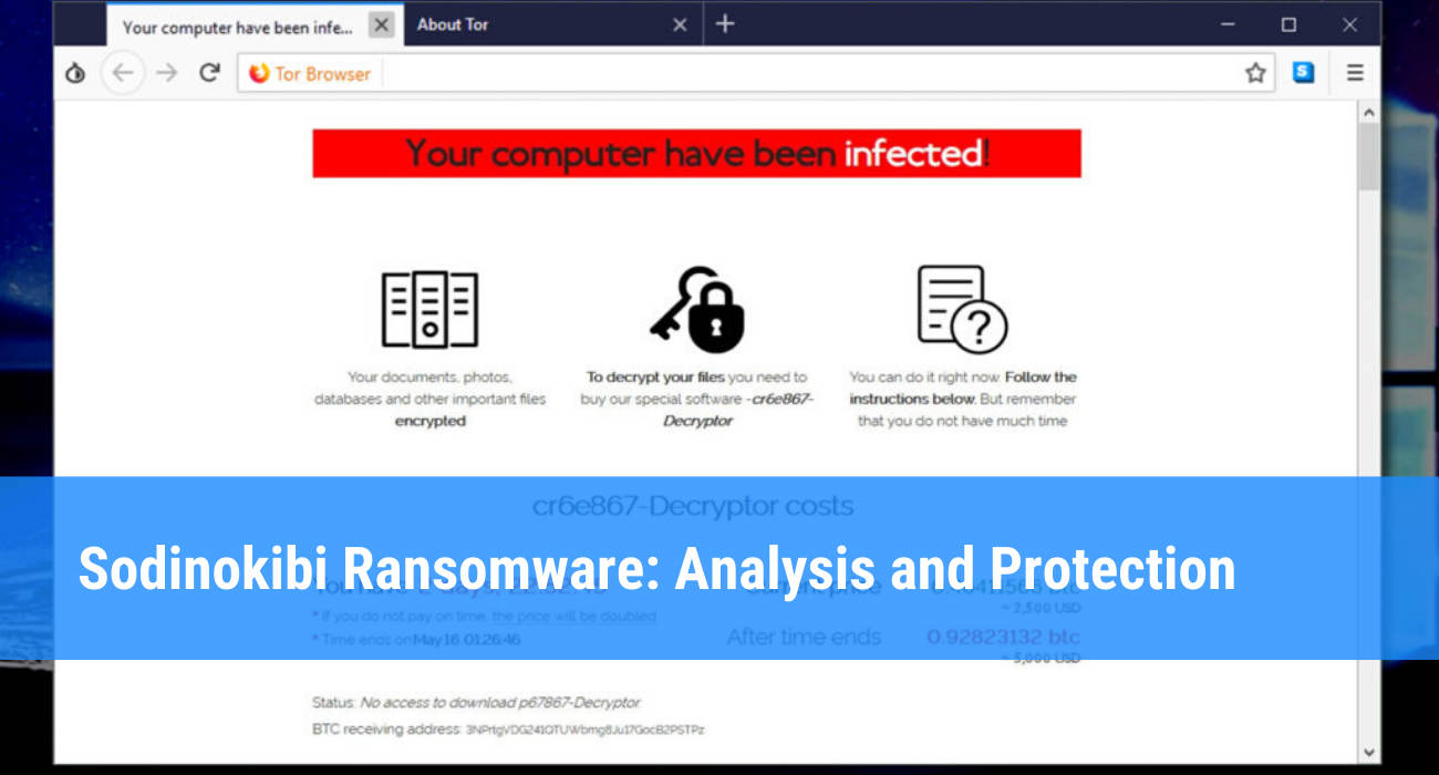 Sodinokibi ransomware: definition and protection strategies