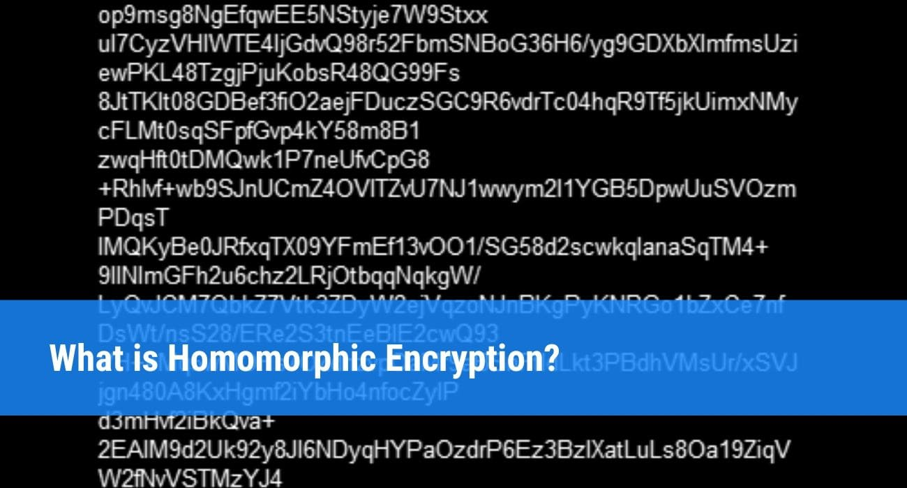 What is Homomorphic Encryption