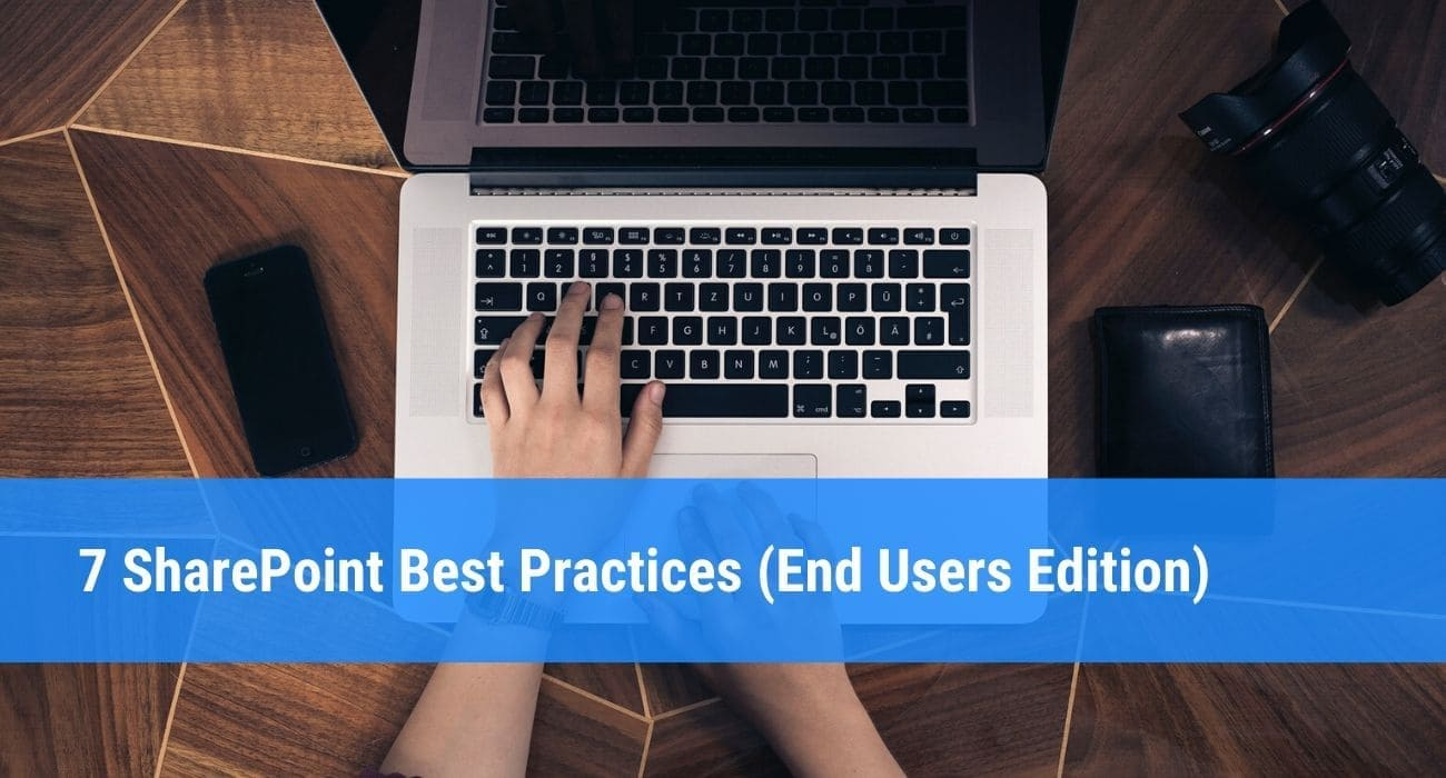 Sharepoint best practises for end-users