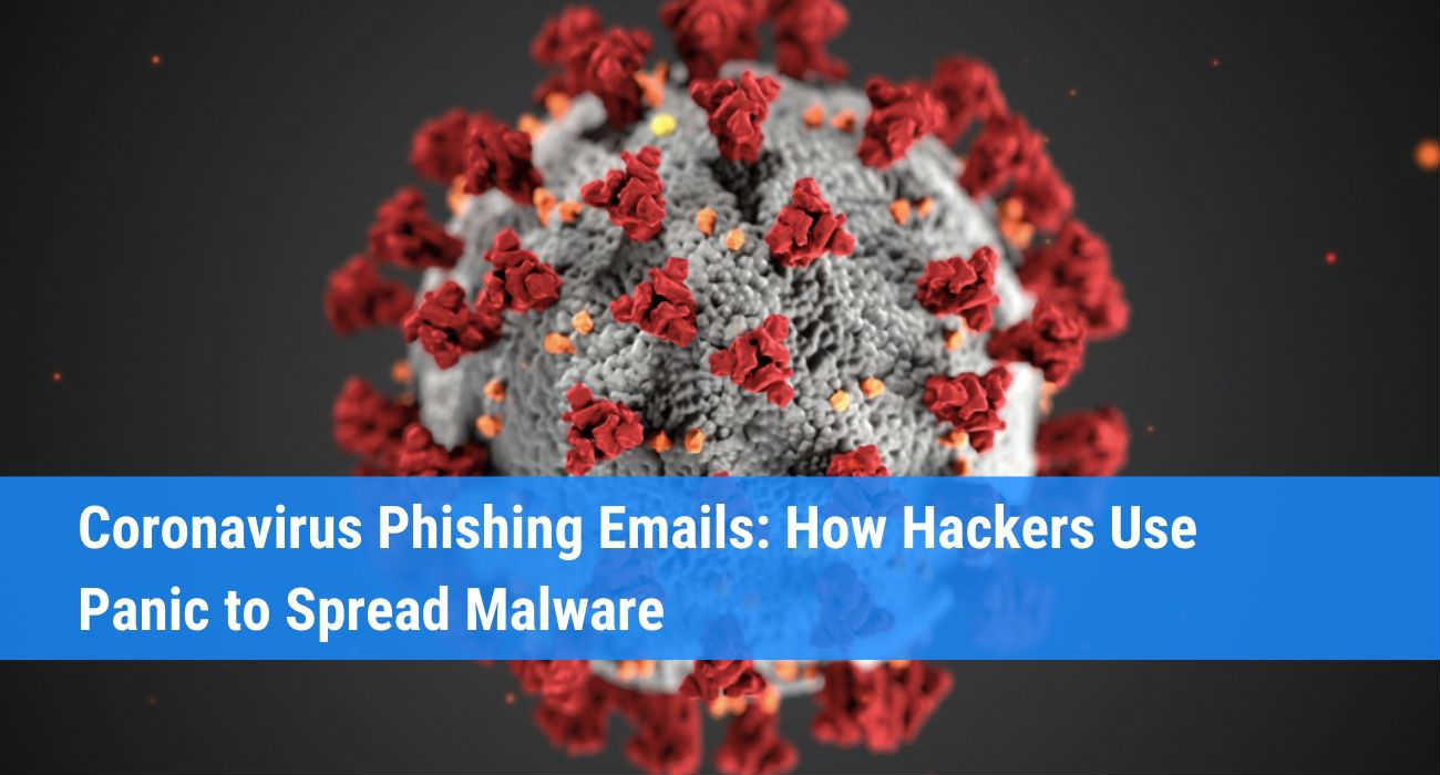 Coronavirus phishing emails spreading malware
