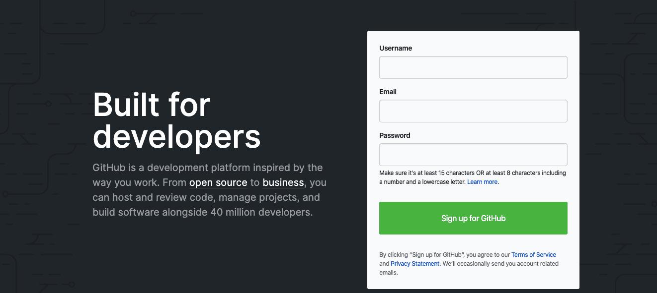 Virtual team software: GitHub
