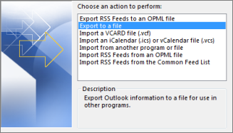 How to backup Outlook contacts