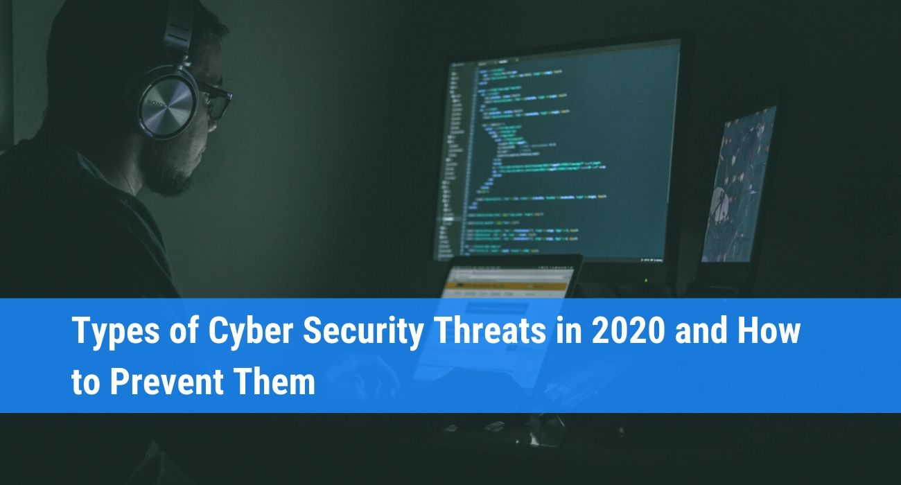 cyber security types of threats