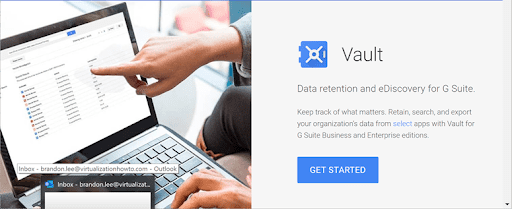 How Google Vault helps your compliance