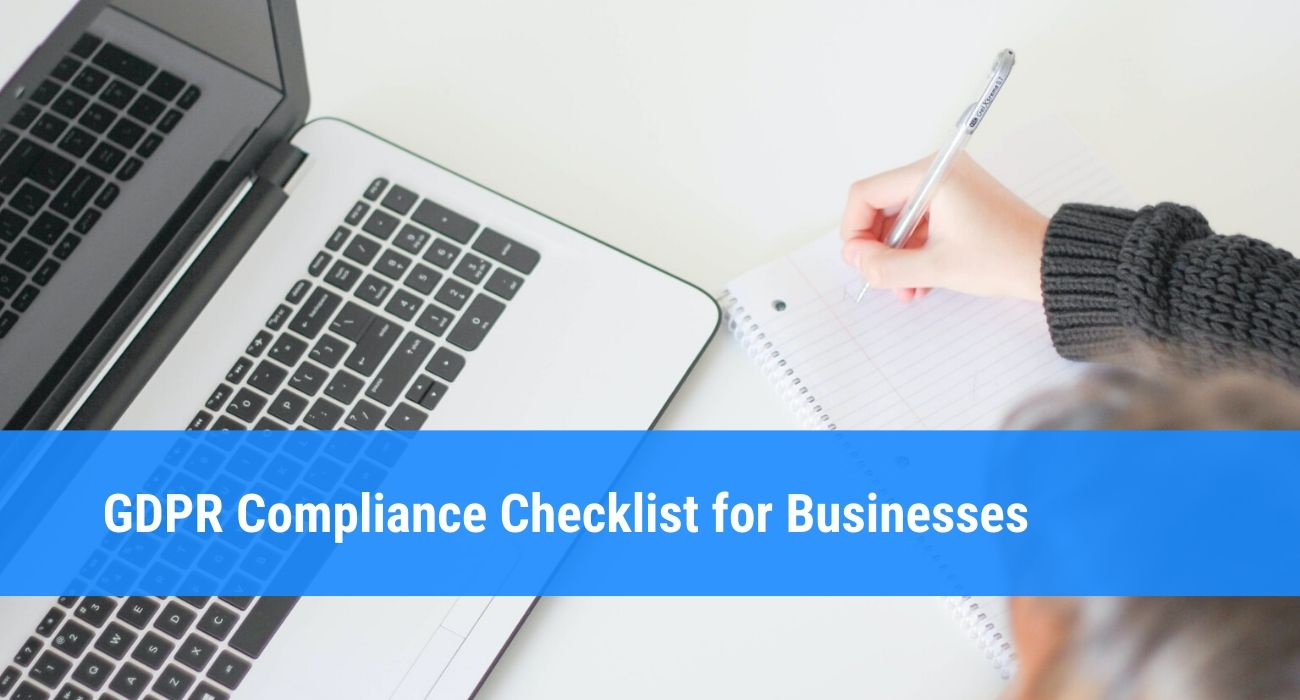 GDPR compliance checklist for Your Business