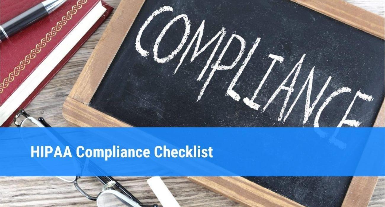 HIPAA Compliance: Checklist