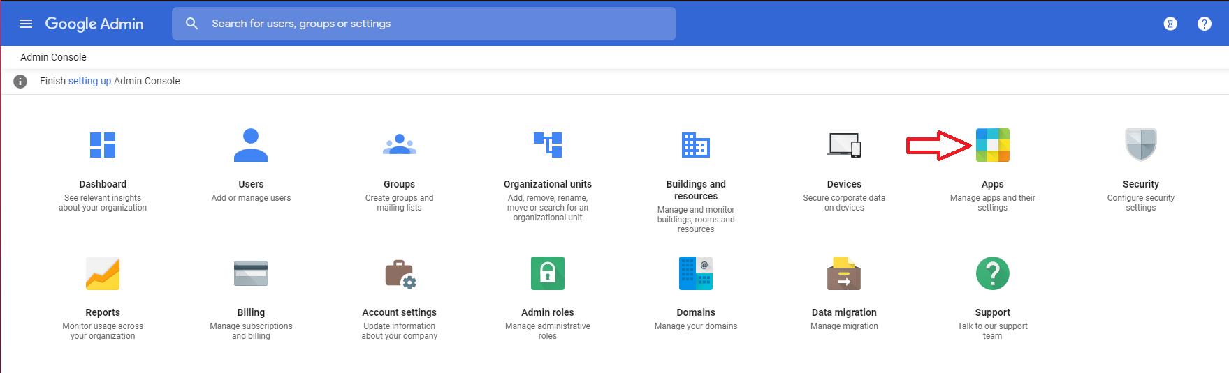 G Suite marketplace applications