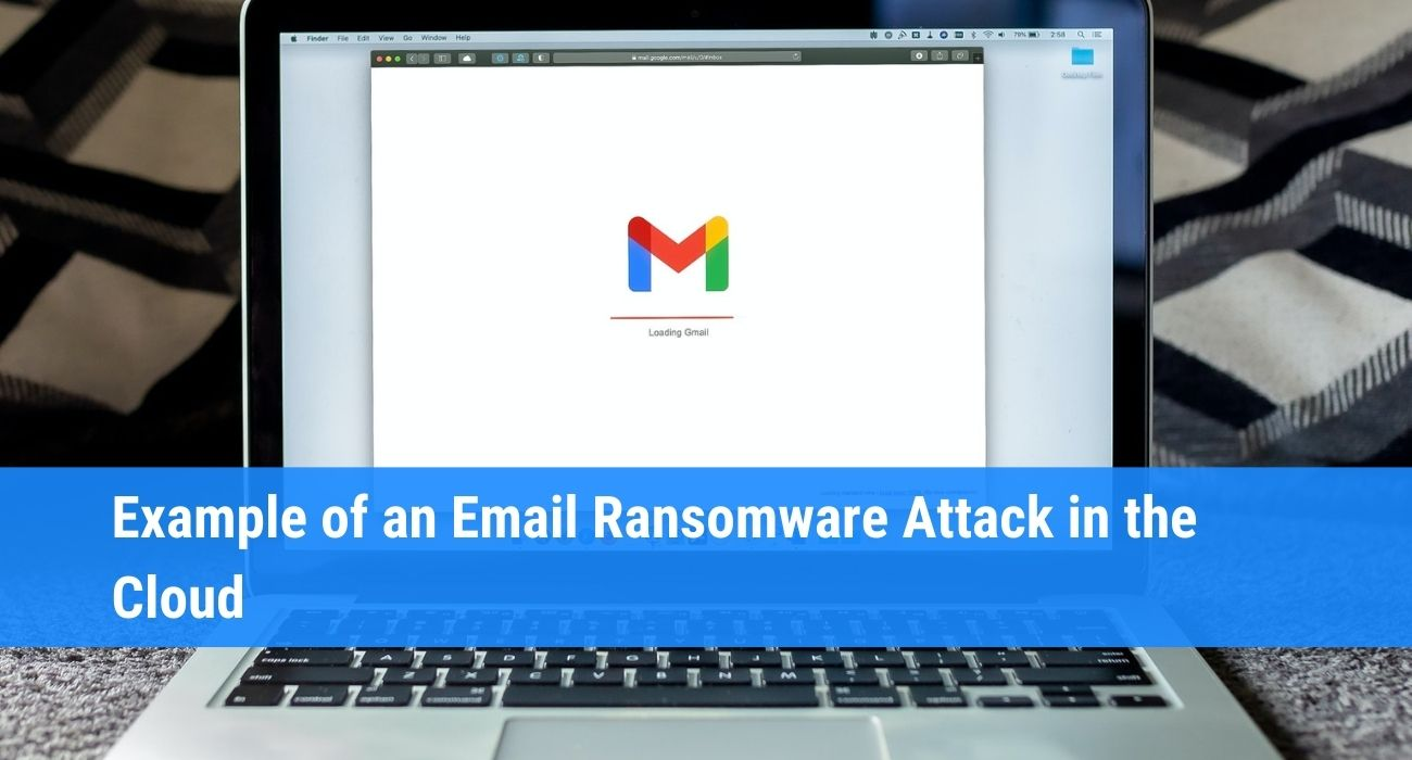 Email ransomware attack
